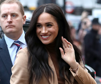 Duchess Meghan steps out with Prince Harry for the first time in 2020 in the outfit we'll all be wearing this winter