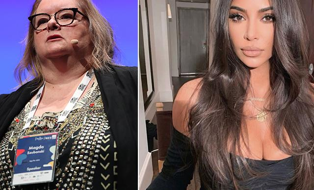 Magda Szubanski defends Kim Kardashian after she was slammed for not donating to the bushfire appeal