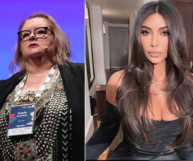 Magda Szubanski defends Kim Kardashian after she was slammed for not donating to the bushfire appeal