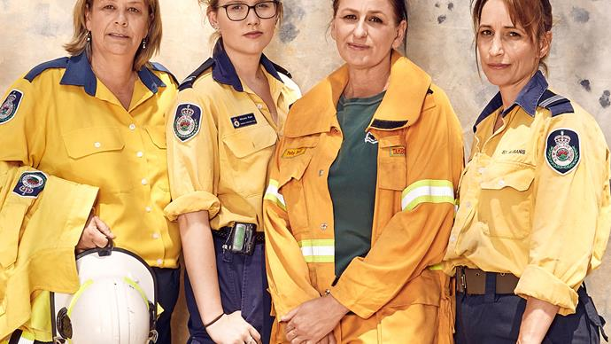 EXCLUSIVE: Meet the heroic Aussie female firefighters risking their lives to battle the horrific bushfires