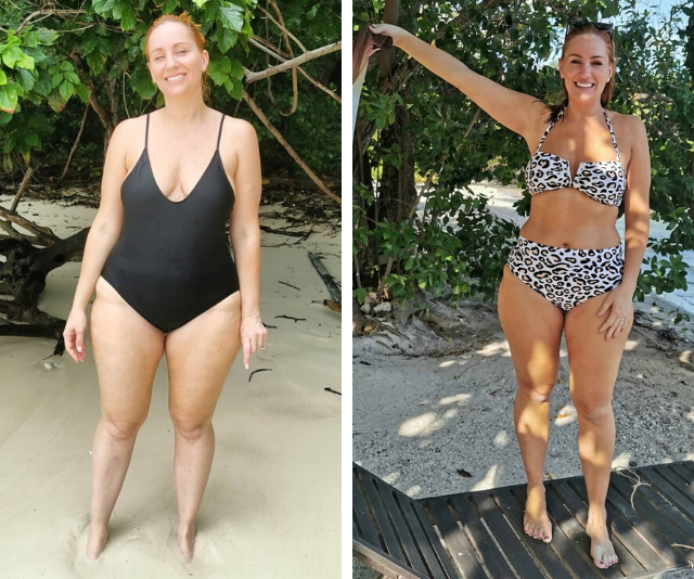 EXCLUSIVE: Jules Robinson reveals the day on a plate that led to her 9kg weight loss
