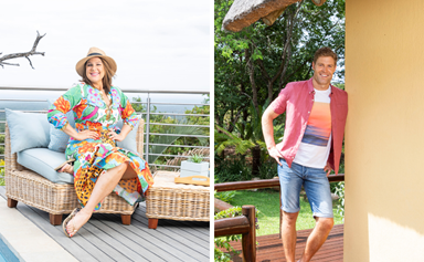 Inside the incredible homes where I'm A Celeb hosts Julia Morris and Chris Brown stay during filming