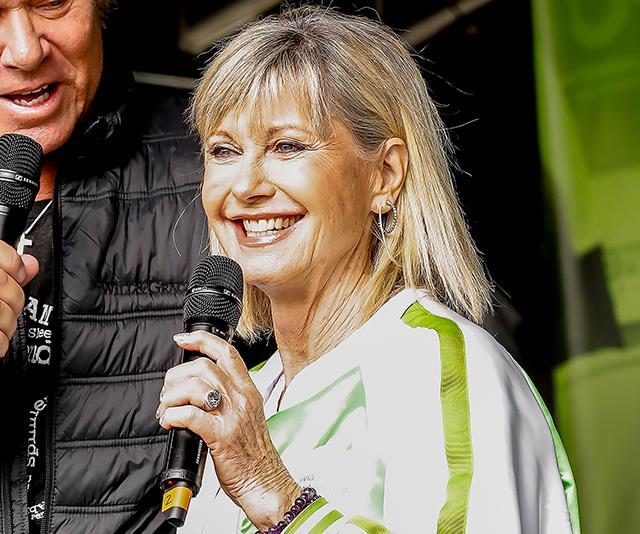 Olivia Newton-John joins Queen, Delta Goodrem and more for epic bushfire relief concert