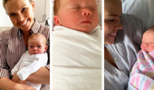 The cutest photos of Sunrise newsreader Edwina Bartholomew's adorable newborn baby