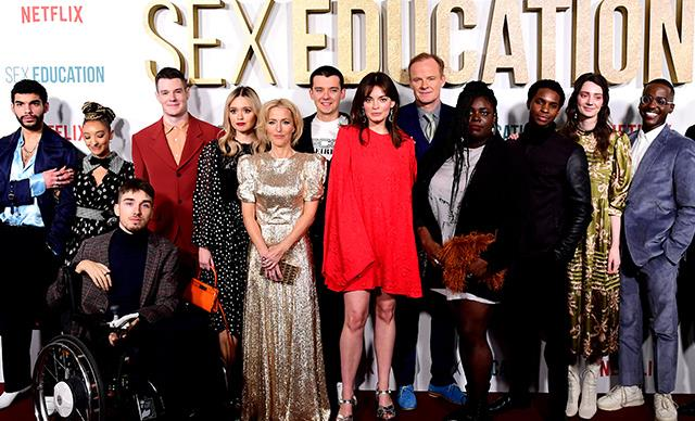 Meet the entire cast of Netflix's Sex Education Season 2