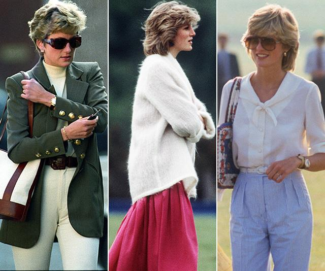 Queen of casual: All the super-chic outfits you forgot Princess Diana wore back in the day