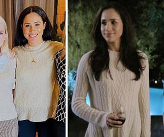 Meghan Markle's chic cable jumper from surprise Vancouver outing was actually from her original Suits wardrobe