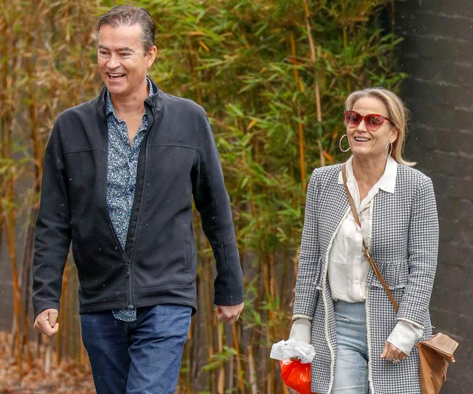 EXCLUSIVE PICS: The Block's Shaynna Blaze's secret dates with a mystery man