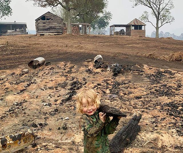 REBUILD OUR TOWNS: This family in NSW's fire-ravaged Cobargo is helping fellow locals get back on their feet