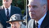 Queen Elizabeth makes surprise public appearance with Prince Andrew amidst royal upheaval