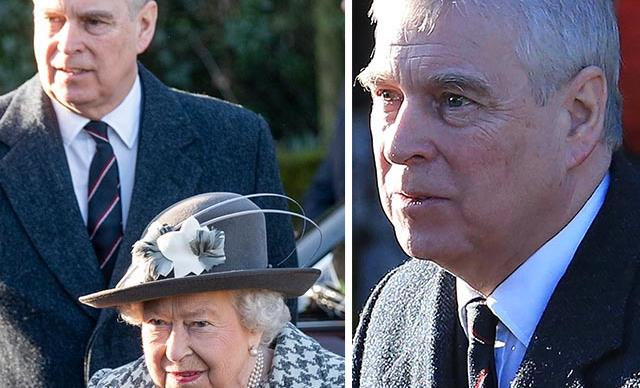 Queen Elizabeth makes a surprise public appearance with Prince Andrew amidst royal upheaval