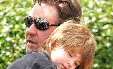 Russell Crowe's comments about being a divorced father will hit home for every co-parenting Mum or Dad