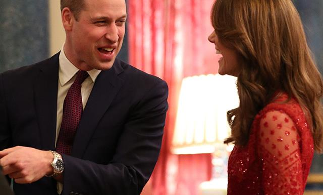 Prince William and Duchess Catherine share a sweet moment together during first public appearance since #Megxit deal