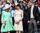 Duchess Camilla made a surprising remark when asked if she'd miss Prince Harry and Duchess Meghan