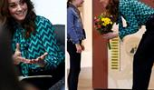 Beautiful new images of Duchess Catherine in Birmingham emerge as she launches a landmark survey in the UK