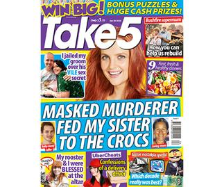 Take 5 Issue 4 Online Entry Coupon