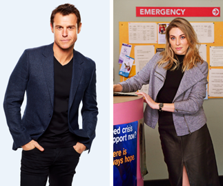 Risky romance! Doctor Doctor's Hugh meets his match when a newcomer arrives