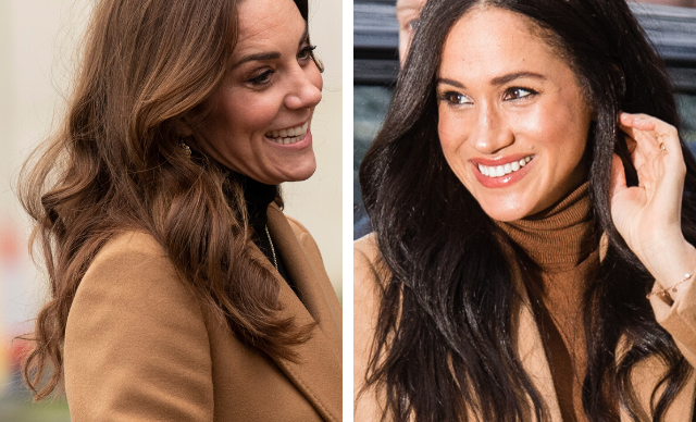 Seven affordable dupes of the chic camel coat Kate Middleton and Meghan Markle adore - and that we'll all be wearing this winter