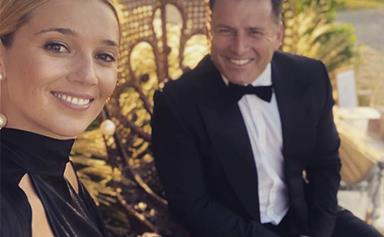 """Karl Stefanovic gushes about his pregnant wife Jasmine Yarbrough: """"She's glowing!"""""""