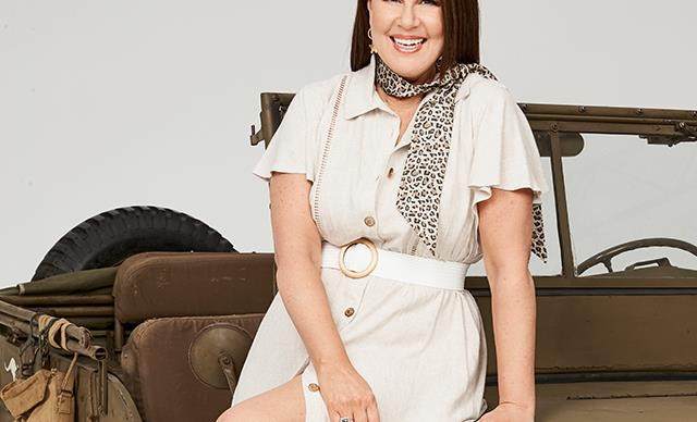 EXCLUSIVE: Julia Morris talks chemistry with co-host Dr. Chris Brown and why she'll never wear shapewear