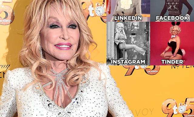 Celebrities are going mad for the viral Dolly Parton Challenge and we've rounded up our favourite posts