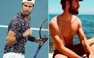 Australian Open star Karen Khachanov looks just like Liam Hemsworth- and people are very confused