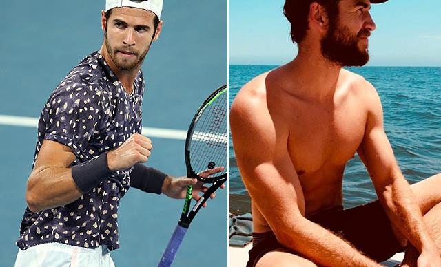 Australian Open star Karen Khachanov looks just like Liam Hemsworth- and people are very confused