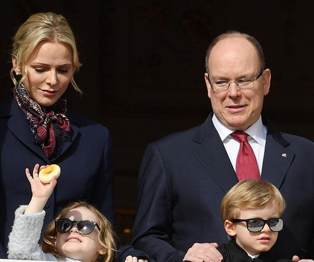 Monaco's royal twins go rogue by wearing slick sunglasses for a rare public appearance