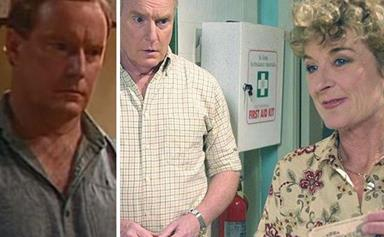 Strewth! Home and Away's Alf Stewart, the ultimate grandad of Aussie TV, has a romantic past that you'll need to brace yourself for