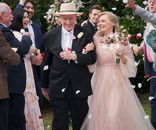Wedding joy! Inside Alf and Martha's stunning nuptials on Home and Away