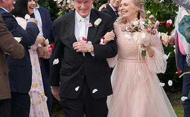 Wedding joy! Inside Alf and Martha's stunning nuptials on Home and Away