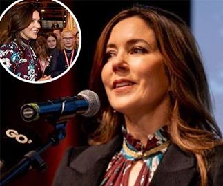 Crown Princess Mary returns to the spotlight in a chic printed shirt