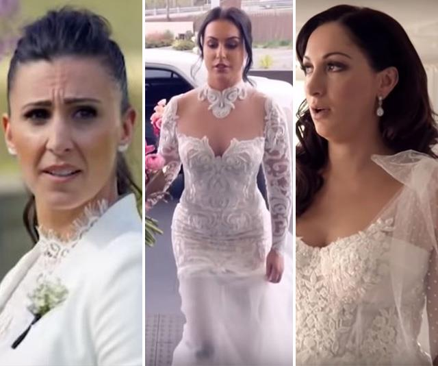 Tulle you take this hand? Every wedding dress worn by the MAFS brides - from the weird to the surprisingly wonderful