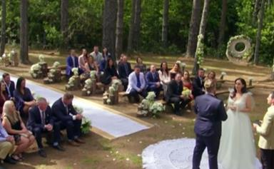 Married At First Sight couple Luke and Poppy's wedding venue was almost destroyed by bushfires