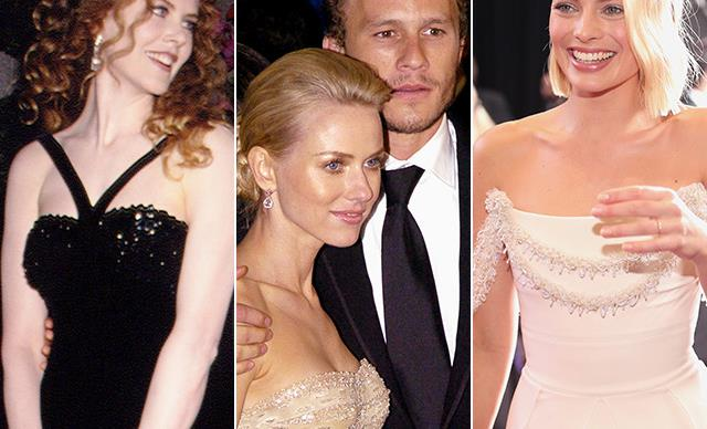 From shrimp on the barbie to Hollywood's biggest party: All the Aussies who've slayed the Oscars red carpet over the years