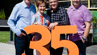 Neighbours promises a huge 35th anniversary week with 3 deaths and 5 weddings!