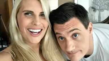 The hilarious way Ed Kavalee convinced his now wife Tiffiny Hall to go on their first date