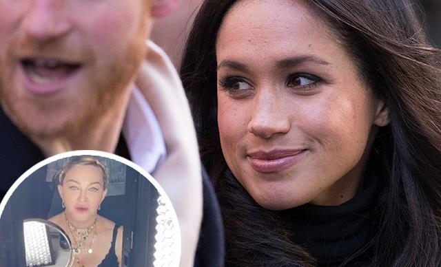 Madonna just offered Prince Harry and Meghan Markle her multi-million dollar NYC apartment in a bizarre Instagram video