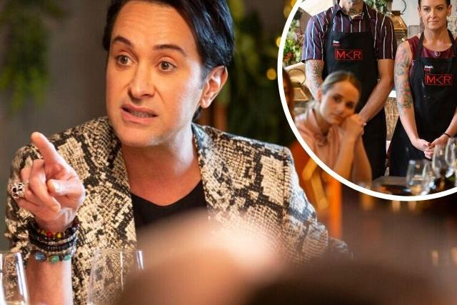 EXCLUSIVE: Inside the bombshell MKR fight, as Romel lashes out at Dan and Steph