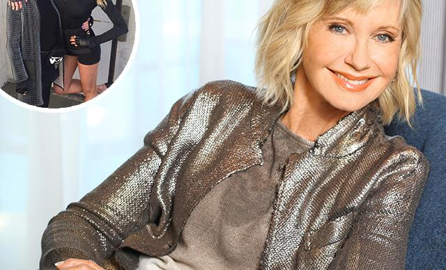 """I needed to come home"" - Olivia Newton-John has made an emotional return to Australia"