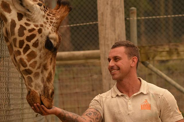 REBUILD OUR TOWNS:  These zoo keepers stopped at nothing to save their animals when bushfires struck