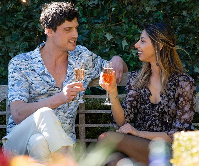 EXCLUSIVE: Red-hot romance: My Kitchen Rules' Ben and Roula get cosy!