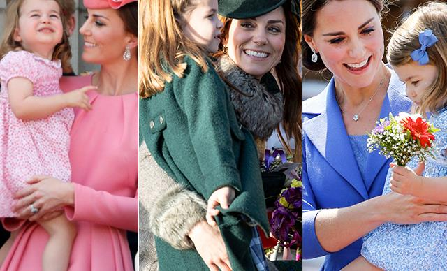 Cambridge girls unite: All the times Princess Charlotte reminded us of her mother, Duchess Catherine