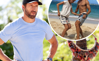 EXCLUSIVE: Jonathan LaPaglia reveals he sacrifices precious moments with his family to host Australian Survivor