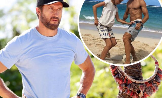 EXCLUSIVE: Jonathan LaPaglia reveals he sacrifices precious moments with his family to host Australian Survivor