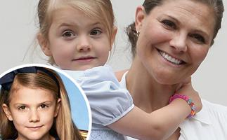 Gorgeous new photos of Swedish Princess Estelle surface - and she's growing up so fast!