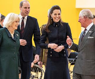 The new Fab Four? Prince William and Duchess Catherine joined by Prince Charles and Duchess Camilla at latest royal outing