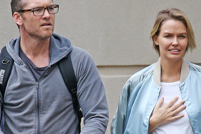 Heavily pregnant Lara Worthington is moving to New York with her growing family