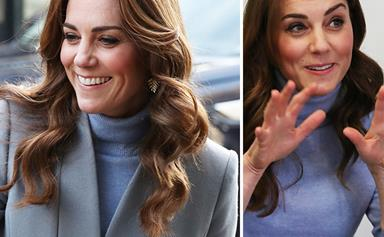 Duchess Catherine makes a sneaky outfit tweak during her whirlwind one-day tour of Scotland and Ireland
