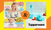 Subscribe to Good Health & Wellbeing magazine and get a bonus gift from Tupperware